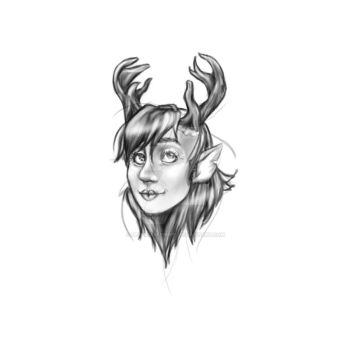 Reindeer Woman by Despicable5mee