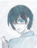 Ciel is angry by WoefulWriters