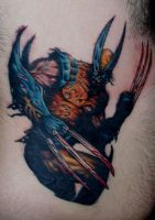 wolverine zombie by tattoos-by-zip