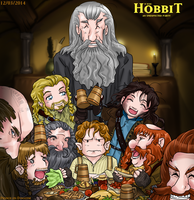 The Hobbit: An Unexpected Party by Prince-in-Disguise
