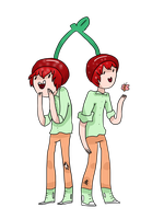 Contest Entry for LemonTarts : Cherry Twins by ComicSands