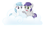 Cotton Cloudy and Tornado Bolt by TheCheeseburger