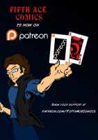 Fifth Ace Comics on Patreon! by MarcusSmiter