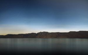 Pyramid Lake - from iPad by luccaspaivasilva