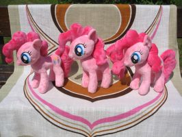[My Little Pony] Triple Pinkie Pie! [FOR SALE] by NekoRushi