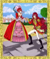 The Red rose of Versailles by Soji-chan