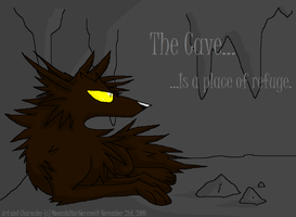 The Cave by MoonstalkerWerewolf