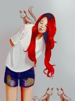 I like red hair by adell14
