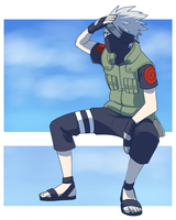 Kakashi - summer by medli