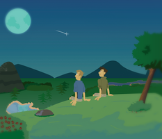 Kratt Brothers - Moon Night by RicoRob