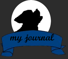Free Night Wolf Journal Skin by xXRedRidingHoodXx