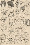 960 Th Sketches Z fighters by M053AB