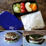 Rice Burger Bento by Demi-Plum
