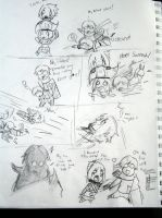 OVAN/SILLYBUS TAGTEAM COMIC by Skypup