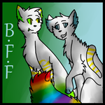 BFF ~ Commission For YogaCats by dwnjr