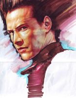 Keanu Reeves by carlosCL