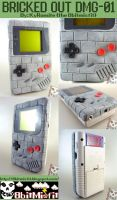 Custom Gameboy Bricked Out DMG by KyleRobinsonCustoms
