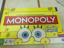 Spongebob Squarepaints Monopoly by extraphotos
