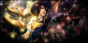 Flora (LoL) Signature, by FlyingGinger