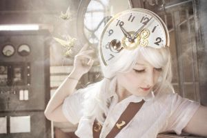 The Watch Doll by yaseminkaraca