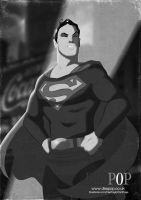 Superman circa 1940 by DESPOP