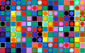 Inspired by Victor Vasarely - Marc Positive by Manshonyagger