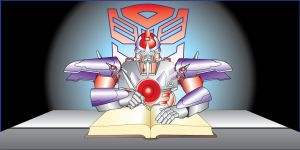 """Alpha Trion Writing"" vector by Tramp-Graphics"