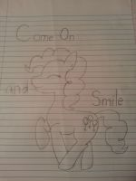 Pinky Pie-Smile (UNCOLORED) by agitha-and-neytiri-f