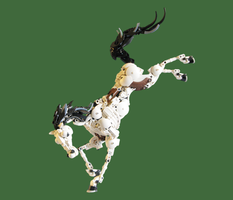 Lego: Sleipnir the Majestic by retinence