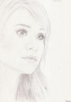 Ashley Olsen 7 by crayon2papier