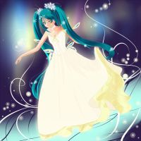 Hatsune Miku by Anary