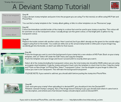 Deviant Stamp Tutorial V2 by stamp-album