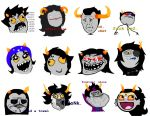 Homestuck Troll Face-memes by Warcry31