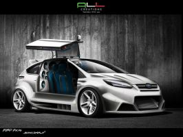 Ford Focus_BiancoPerla WTB2010 by LazziTuning