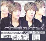 Pack Png #02 - Park Jung Min [SS501] by GirlHana