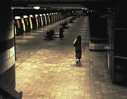 dristor subway station by aniripal
