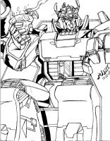 KING MEGATRON by Optimus8404