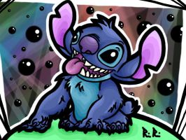 Stitch - Colors! 3D by TheGreenDragonGirl