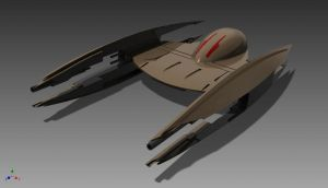 Droid Starfighter by ExoticcTofu
