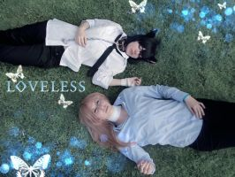 - Loveless cosplay: just resting together - by MariVargas93
