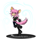 Gaia Online Commission- Momo the Chinchilla by TheSnowDrifter