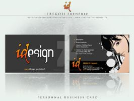 Personnal Business Card by fredpsycho83