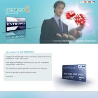 EntroPay_Betsson Landing Page3 by mangion