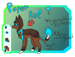 Paper Reference Update by AnamayCat