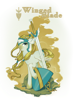 Winged Blade_final_ver by Chio-Kami