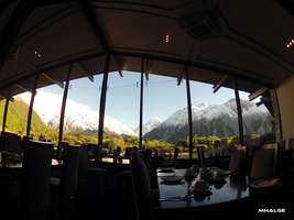 Mt Cook hotel restaurant by MHalse