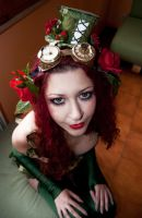 Steampunk Poison Ivy 1 by dani-foca