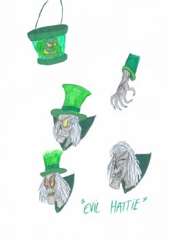 The Hatbox Ghost's Evil Twin by ScroogeMacDuck
