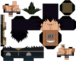 Gajeel Redfox by hollowkingking