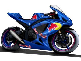 Red Bull GSXR by Zed03